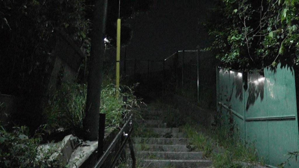 夜の百段坂